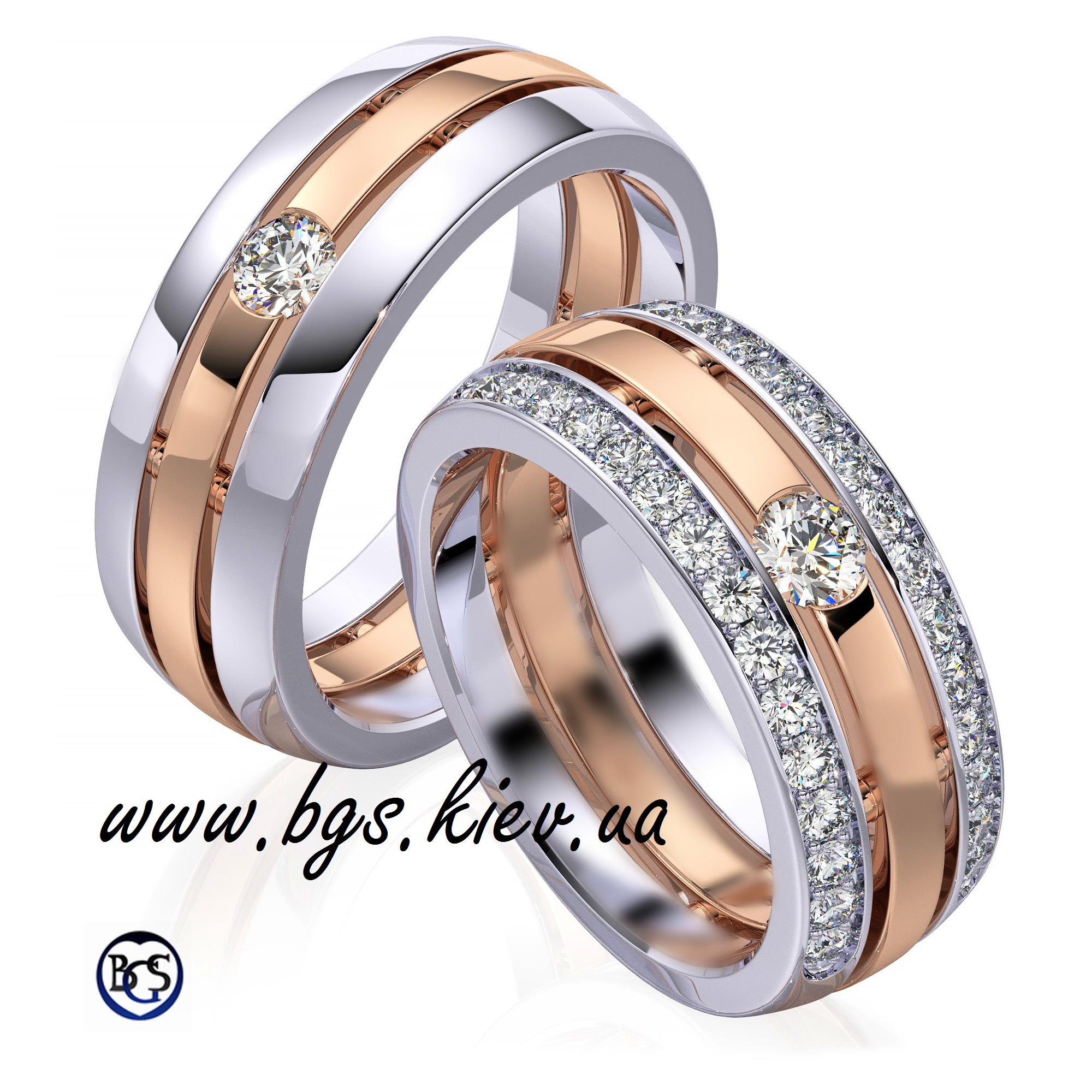 Дизайнерские обручальные кольца на заказ
