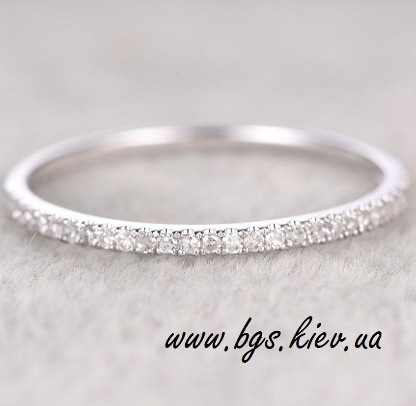 Золотое кольцо с бриллиантами «Queen»