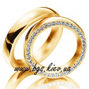 Обручальные кольца с комфортной посадкой