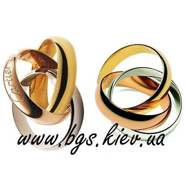 Обручальные кольца Trinity de Cartier