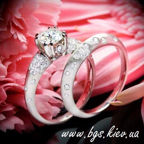 Помолвочное кольцо «Идеальная пара»