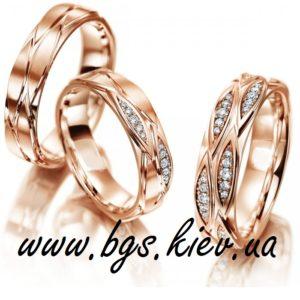 обручальные кольца с вставками