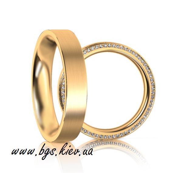 обручальные кольца с кристаллами сваровски