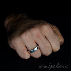 ХАРАКТЕРИСТИКИ Пол: Мужская свадебная банда Ширина полосы: 5 мм Металл: белое золото 14k