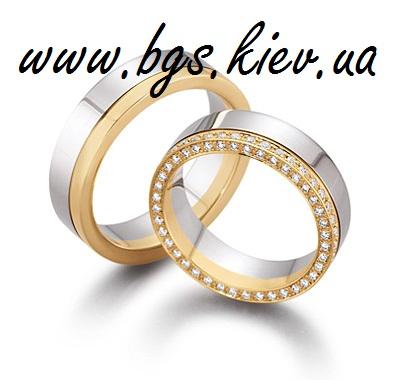 Золотые обручальные кольца «Монро»