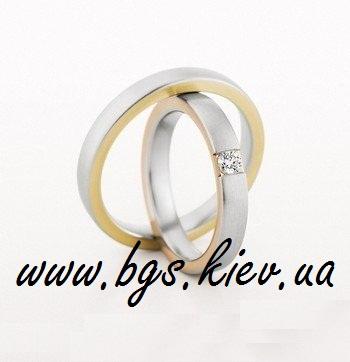 Обручальные кольца «Два золота»