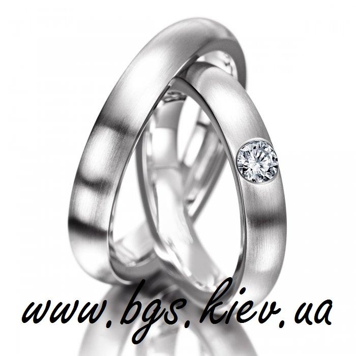 Простые свадебные кольца