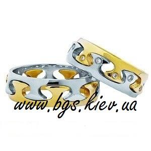 Свадебные кольца «Инь и Янь»