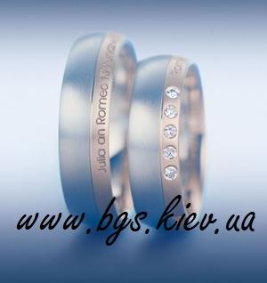 Свадебные кольца «Дата свадьбы»