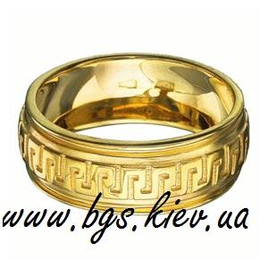 Обручальное кольцо «Греческий орнамент»