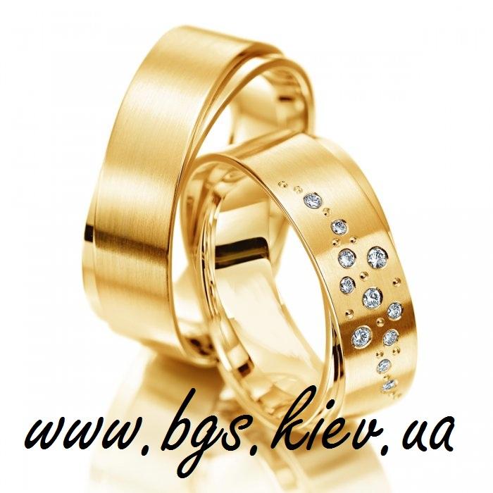 Обручальные кольца «Золотые россыпи»