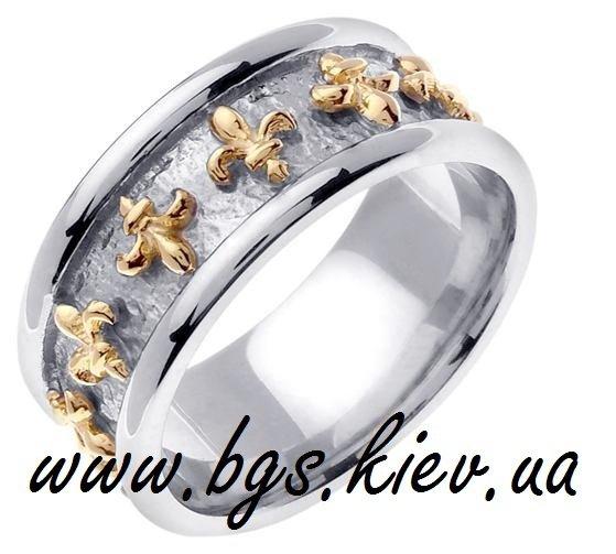 Обручальные кольца «Бургундская лилия»