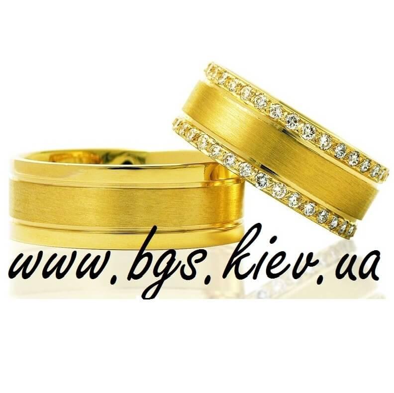 Обручальные кольца из желтого золота - классические золотые женские ... 730db5744d1f0