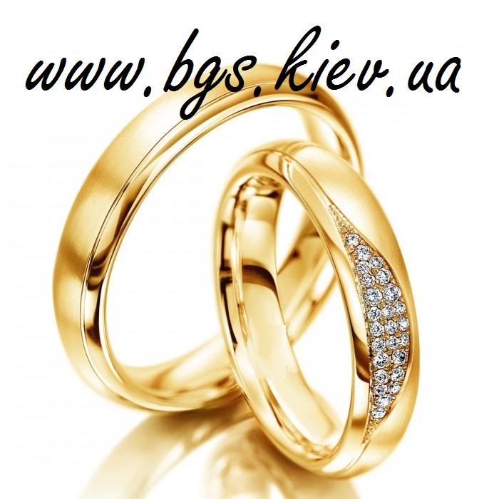 Кольца из желтого золота «Росы»