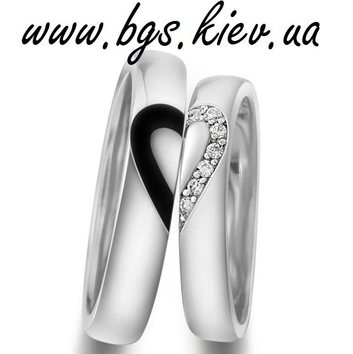 Обручальные кольца «Лед и Пламя»