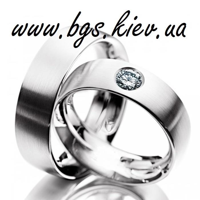 Кольцо американка с удобной посадкой белое золото 6d1497580d6