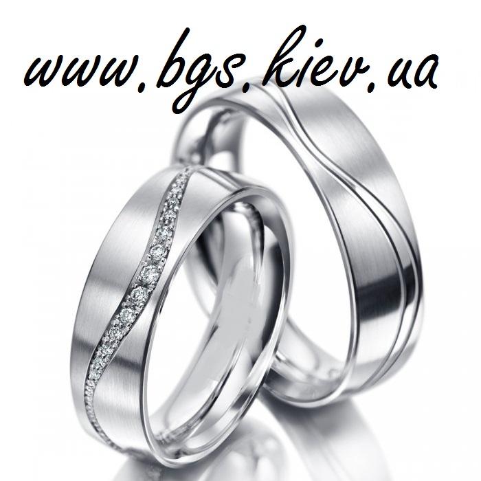 Ювелирные парные обручальные кольца