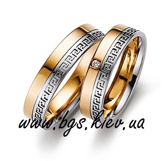 Обручальные кольца «Древняя Греция»