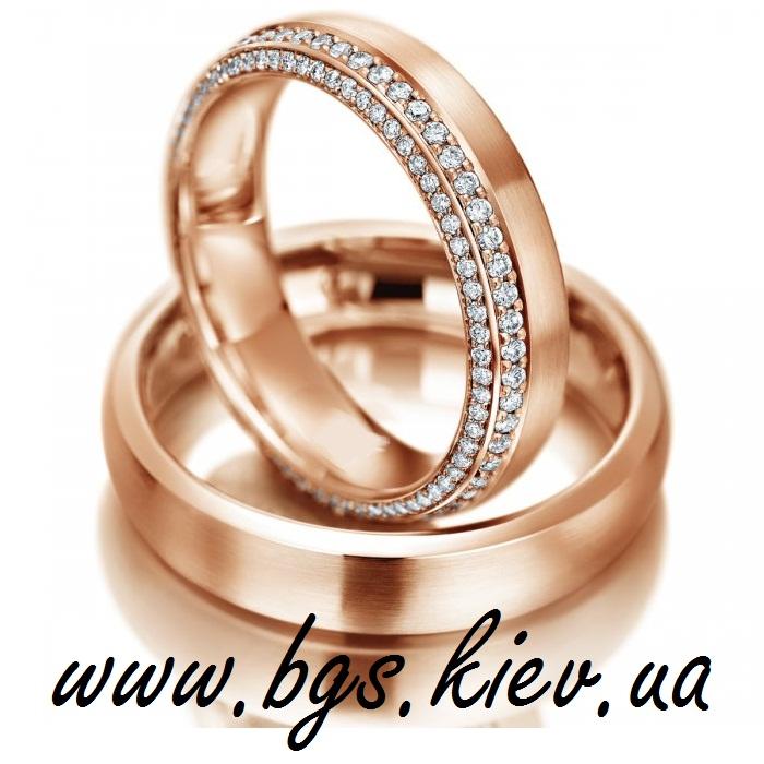 Обручальное кольцо «Две полосы любви»