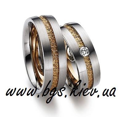 Обручальные кольца «Линия любви»
