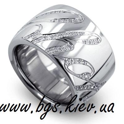 Золотое кольцо Chopard