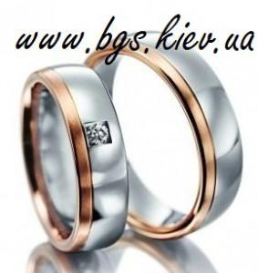 кольца золотые свадебные