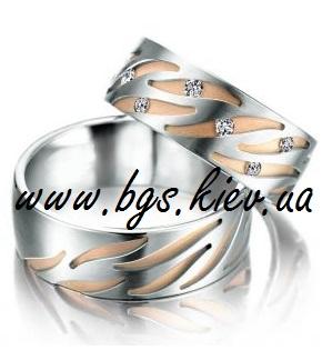 Свадебные кольца «Зимняя сказка»