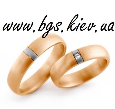 Обручальные золотые кольца «Оскар»