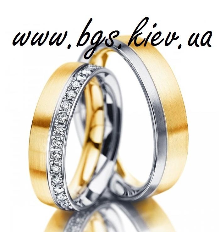 Кольца из комбинированного золота «Платинум»