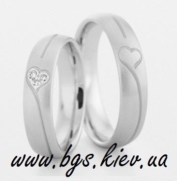 Обручальные кольца «Сердца двоих»