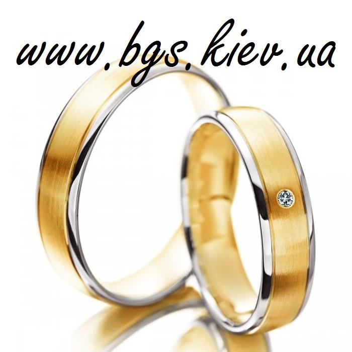 Нежное свадебное кольцо с бриллиантом «ВМЕСТЕ НАВС