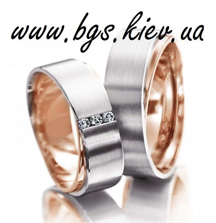 Свадебные кольца со смещенными гранями «Грань»
