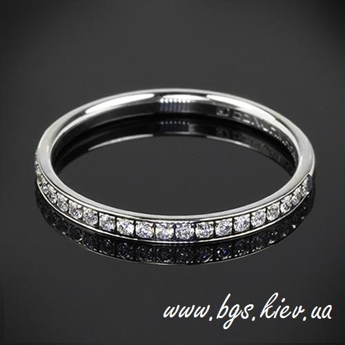Женское золотое кольцо tiffany