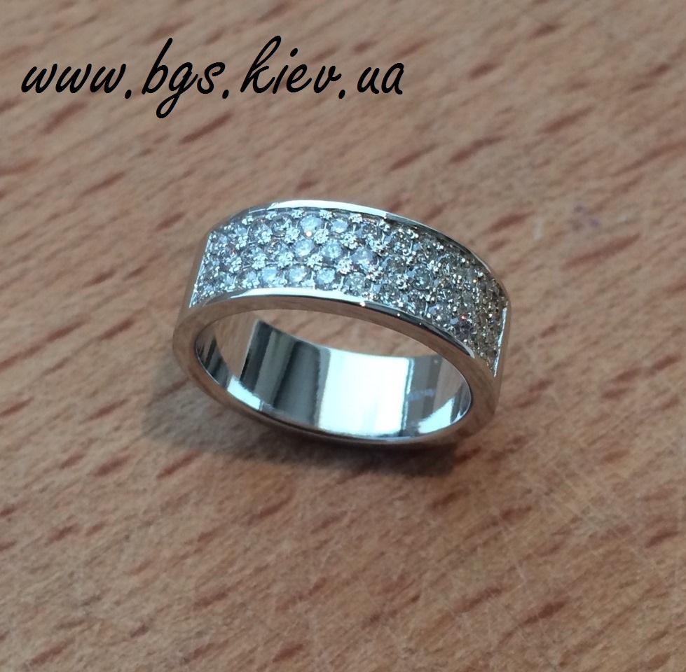Обручальное кольцо «Осколки бриллианта»