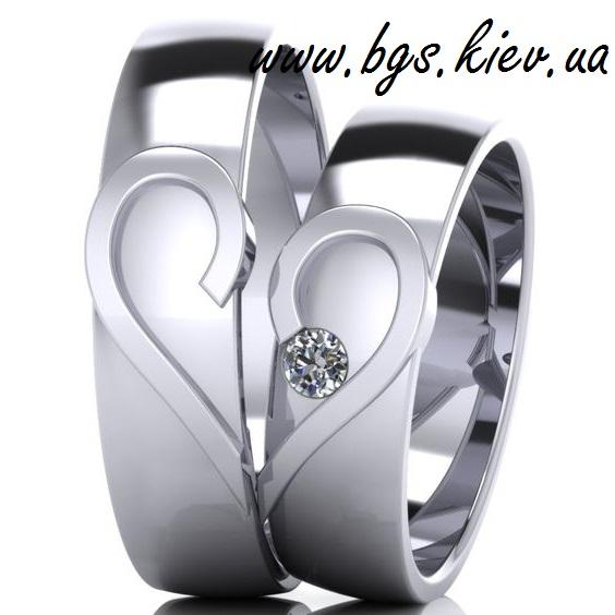 Обручальные кольца «Половинки»