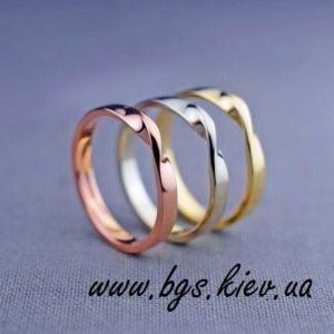 обручальные кольца петля мебиуса
