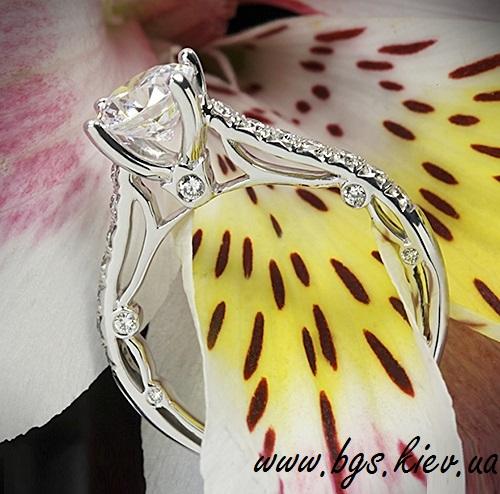 Женское золотое кольцо «Королева»