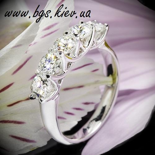 Помолвочные кольца «Бриллиантовый букет»