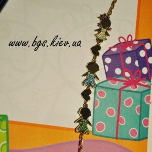 мамин браслет, браслет для мам детки, золотой браслет детки с бриллиантами, мамин браслет, браслет детки, браслет с куколками