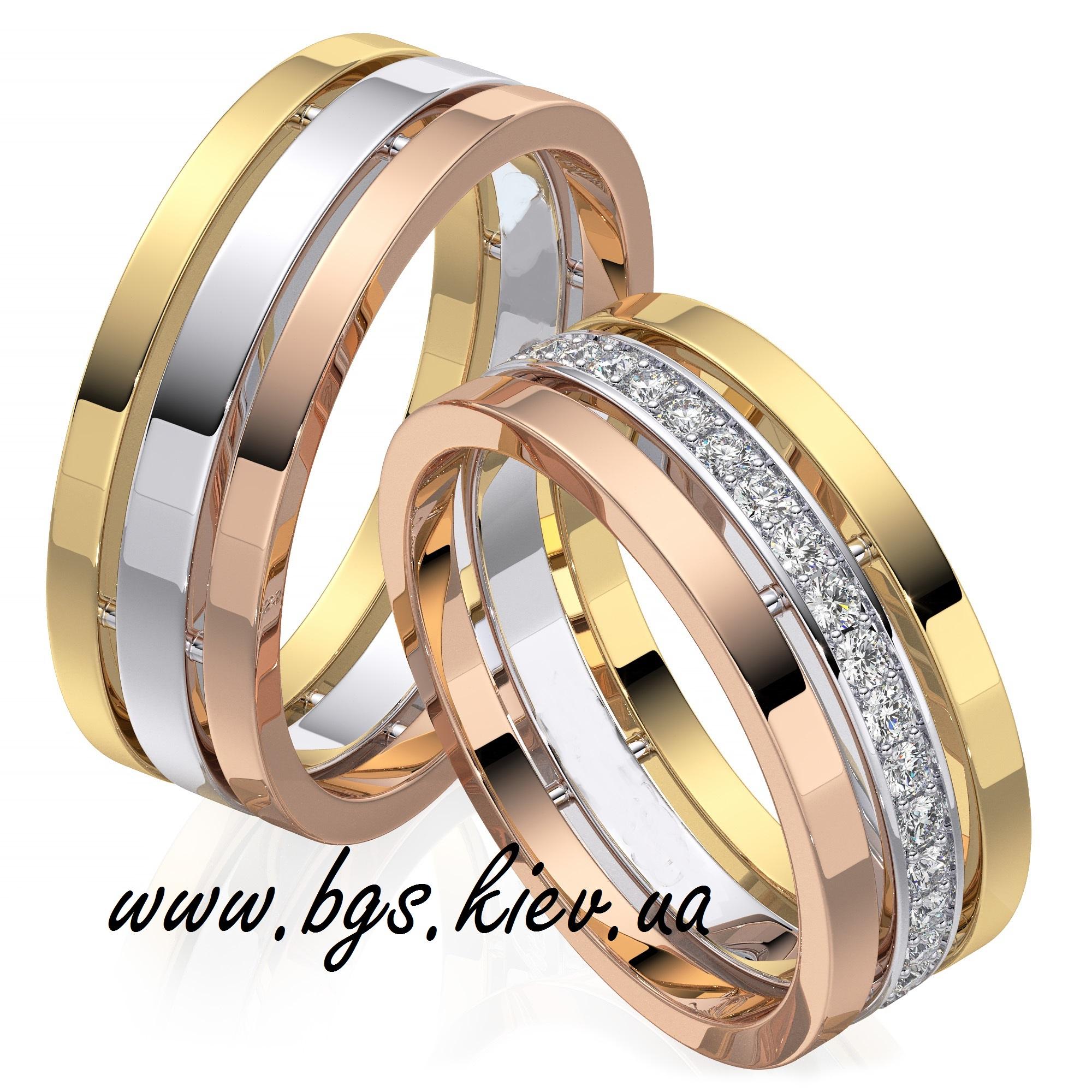 Свадебные кольца из золота