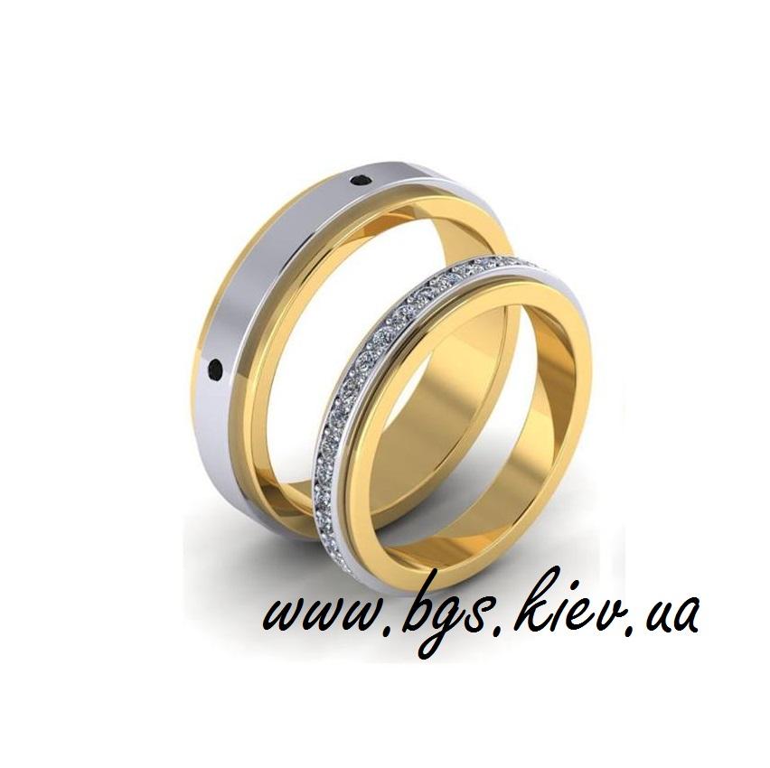 Мужское кольцо с бриллиантами «Любовь»
