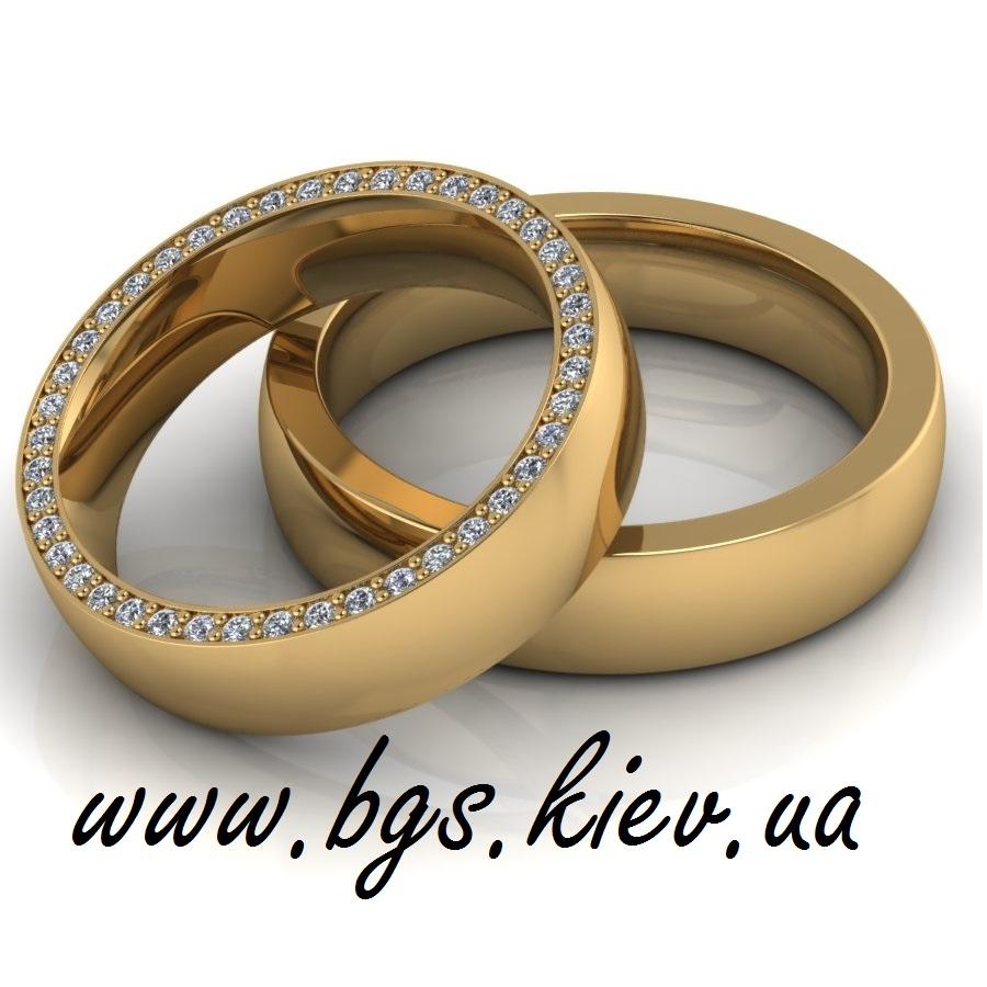 кольца из желтого золота «Настоящая любовь»