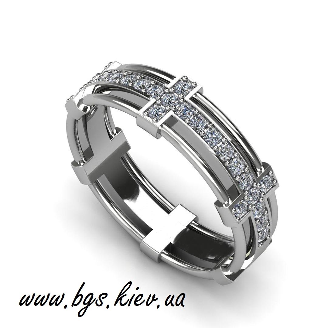 Обручальные кольца «Белое золото»