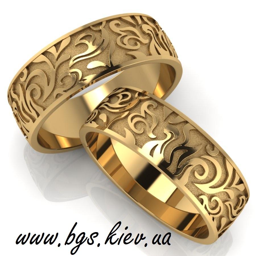 обручальные кольца парные золото