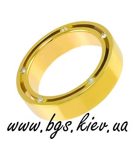 Обручальные кольца Дамиани из желтого золота