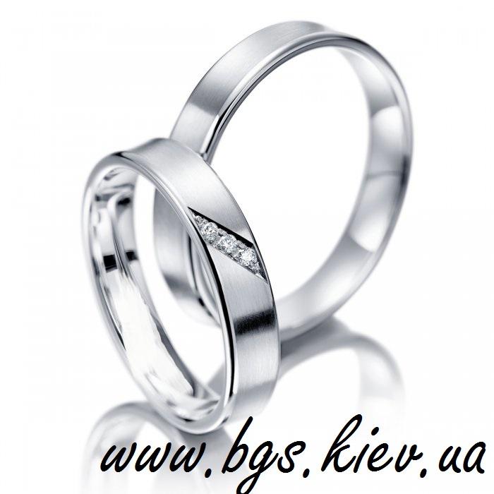 Обручальные кольца «Кристальный блеск»