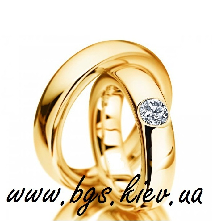 Свадебные кольца «Золото»