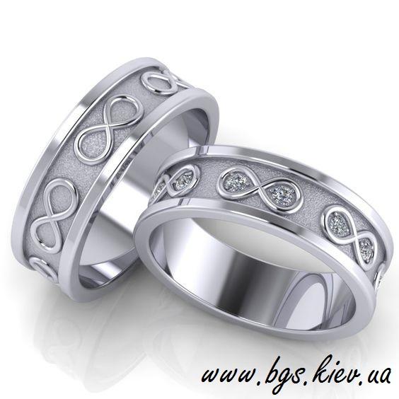 Кольца из золота «Бесконечная любовь»