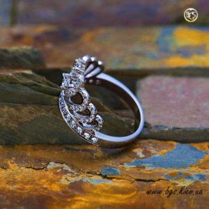 кольцо корона подарок
