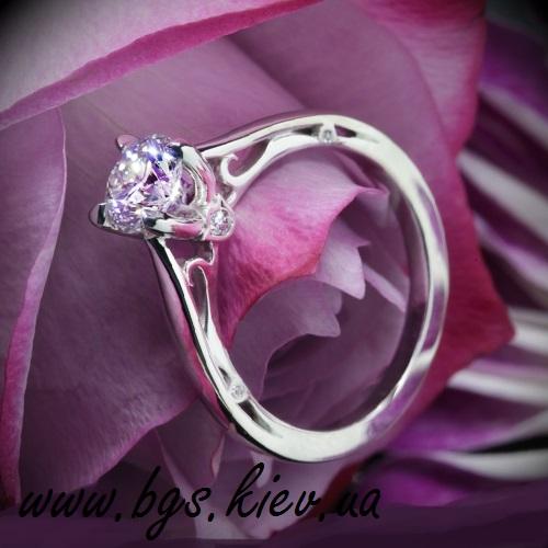 Кольцо «Бриллиантовая весна»
